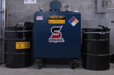 Used Oil Tank - Oil Pickup Services